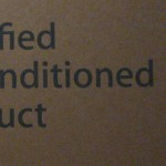 certified reconditioned product
